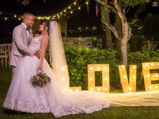 O casamento de Fernanda e Clevio