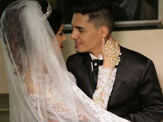O casamento de Jaquelaine e Sérgio