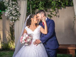 O casamento de Quézia e Alan