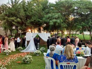 O casamento de Leandro e Aline