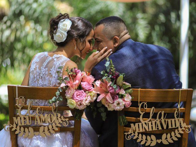 O casamento de Damares e Eduardo