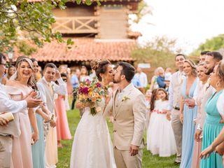 O casamento de Elaine e Ricardo