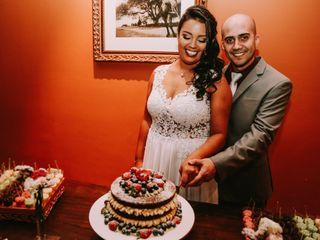 O casamento de Aline e Gabriel