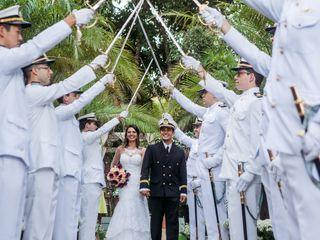 O casamento de Daniele e Emanuel