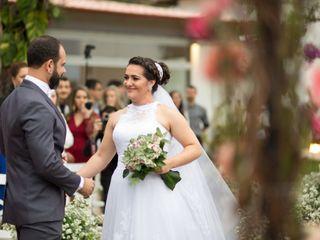 O casamento de Luciane e Fábio 1