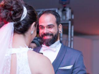 O casamento de Luciane e Fábio
