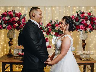 O casamento de Yasmin  e Weverton