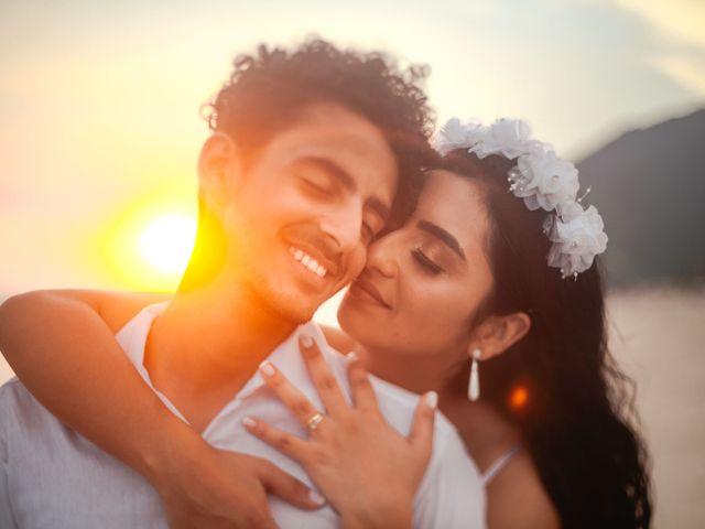 O casamento de Gabrielle e Lucas