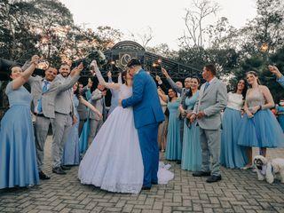 O casamento de Ester e Dener