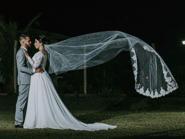 O casamento de Joice e Silfarner