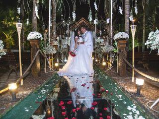 O casamento de Caroline  e Adriano 1