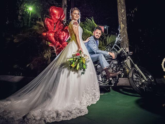 O casamento de Regiana e Philippe