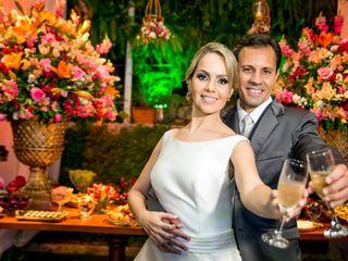 O casamento de Luciana e Marcelo