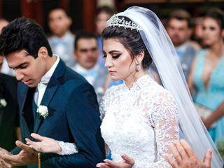 O casamento de Leonara e André