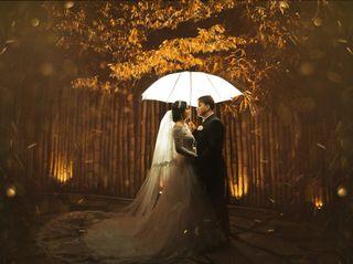O casamento de Krisna e Jorge