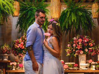 O casamento de Déborah e Thiago