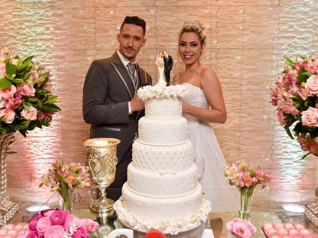 O casamento de Alessandra e Genilson