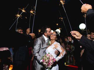 O casamento de Erislâne e Allan