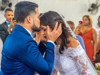 O casamento de Stephanie e Roberto