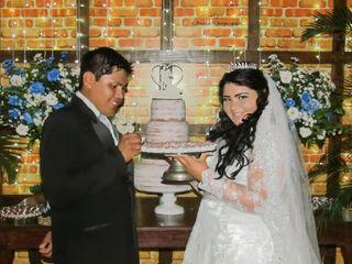 O casamento de Taís e Robson