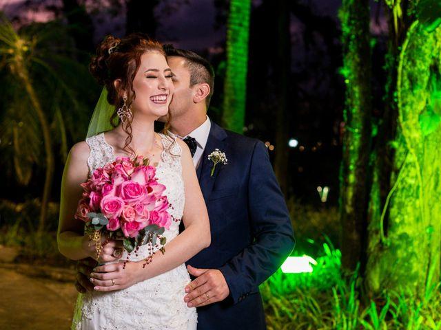 O casamento de Camila e Maicon