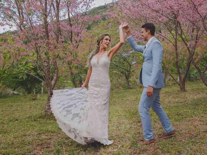 O casamento de Fernanda e Fabiano