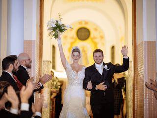 O casamento de Mila e Willian