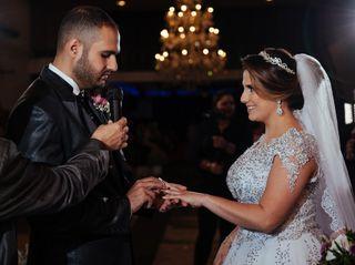 O casamento de Ahmed e Ana Paula