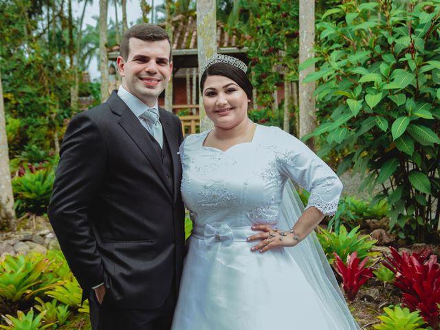 O casamento de Milena e João