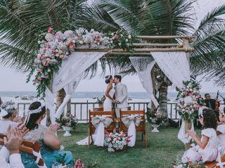 O casamento de Carmem e Julião Antônio