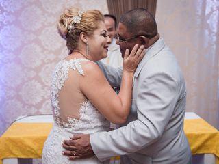 O casamento de Regina e Cecílio