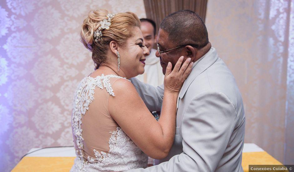 O casamento de Cecílio e Regina em Cuiabá, Mato Grosso