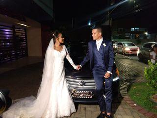 O casamento de Daniele e Sidmar