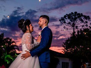 O casamento de Talita e Weslley