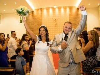O casamento de Naruna e Silas