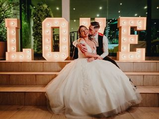 O casamento de Joice e Renato
