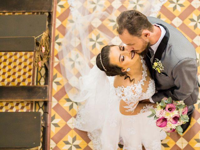 O casamento de Viviane e Ricardo