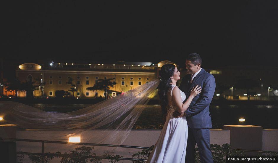 O casamento de Kleber e Nydhya em Recife, Pernambuco