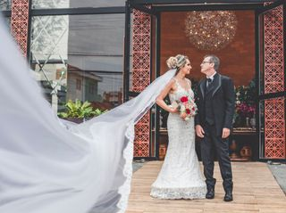 O casamento de Risolene e Germano