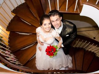 O casamento de Bruna e Elton