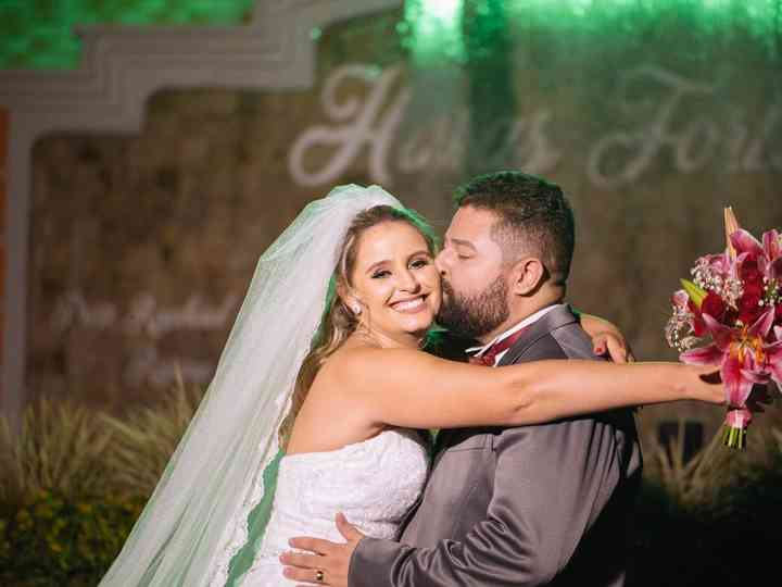 O casamento de Gislayne e Welber