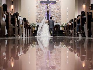 O casamento de Gabriella e Louredan