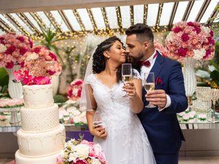 O casamento de Paloma e Prates