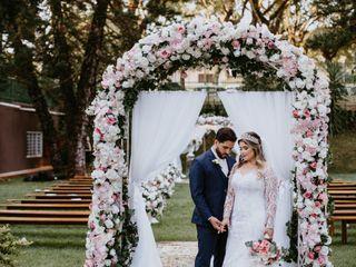 O casamento de Bruno e Lindsey