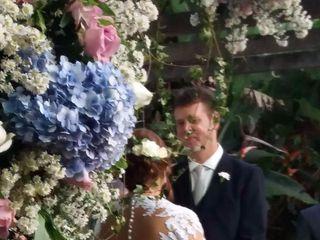 O casamento de Angelica e Andreas