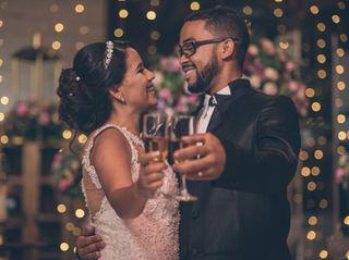 O casamento de Karine e Nabi