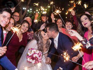 O casamento de Fernanda e Veiga