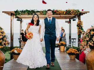 O casamento de Mariama e Jay