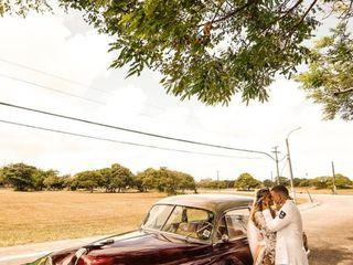 O casamento de Caroline e Pedro