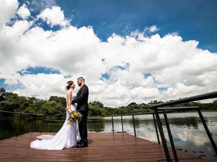 O casamento de Claudia e Lincoln